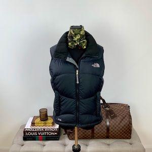 The North Face Black Zip Up Vest 550